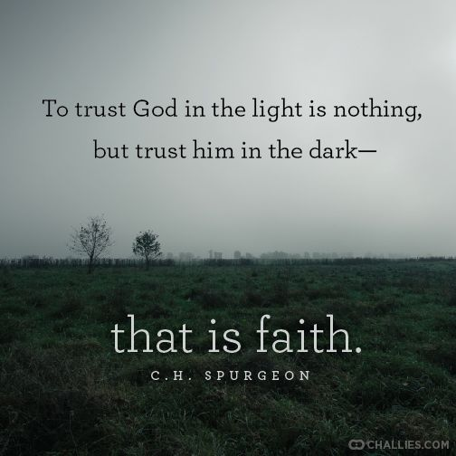 What It Means To Trust God